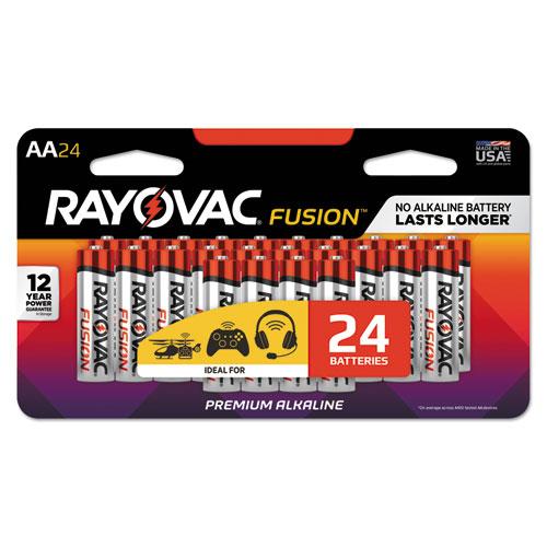 Rayovac® Fusion Advanced Alkaline D Batteries, 8/Pack