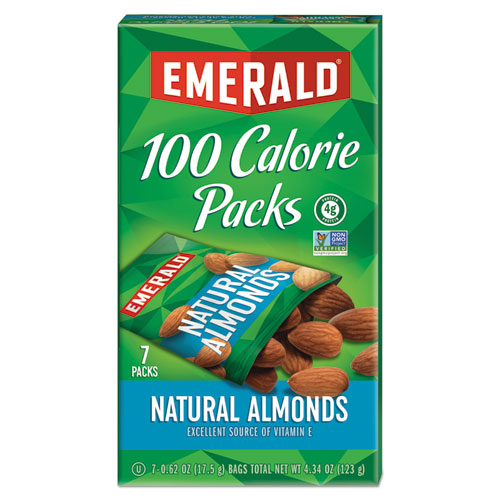 Emerald® 100 Calorie Pack Nuts, Dill Pickle Cashews,  0.62 oz Pack, 7 Packs/Box