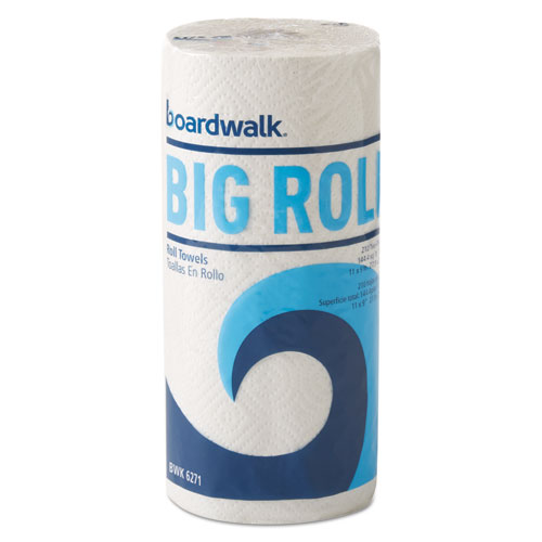 Office Packs Perforated Paper Towel Rolls, 2-Ply,White, 9 x 11, 210/Roll,12/Ct