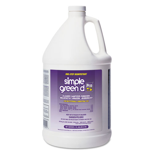 Simple Green® d Pro 5 Disinfectant, 1 gal Bottle