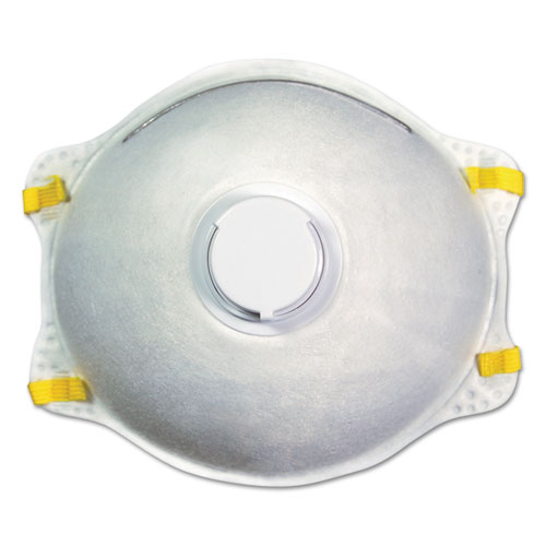 N95 Disposable Respirator With Valve, 12/Carton