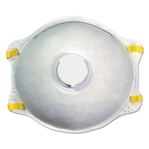 N95 Disposable Respirator With Valve, 12/Carton
