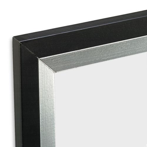 metro series poster frame plastic 24 x 36 blacksilver