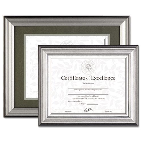 DAX® Photo Frame, Easel Back, Desk/Wall, Plastic, 8 1/2 x 11 ...