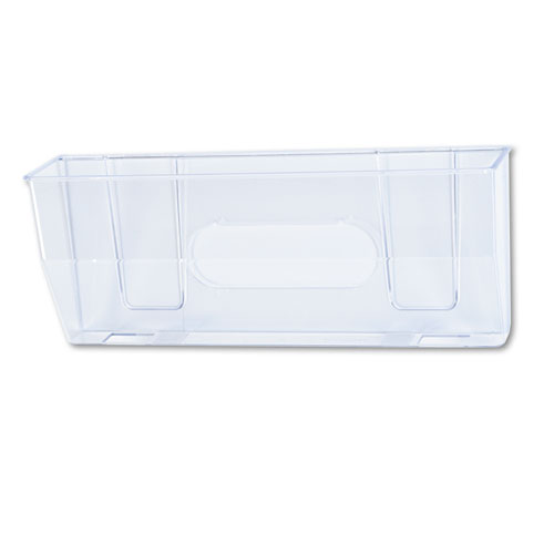 Magnetic DocuPocket Wall File, Legal, 15 x 3 x 6 3/8, Clear