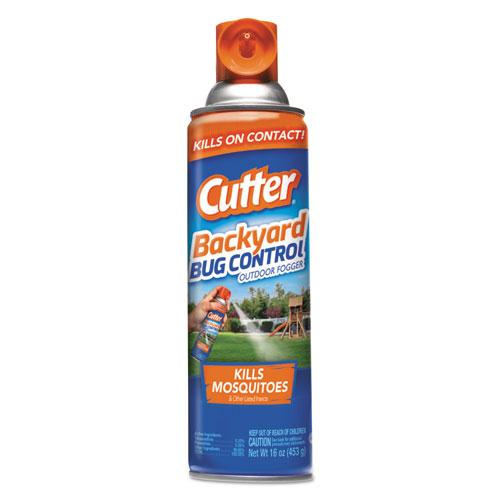 Cutter Backyard Bug Control Outdoor Fogger Spray, 16 oz Aerosol, 12/CT