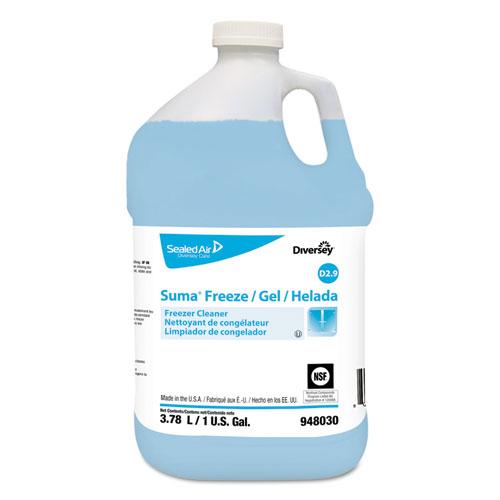 Suma Freeze D2.9 Floor Cleaner, Liquid, 1 gal, 4 per carton