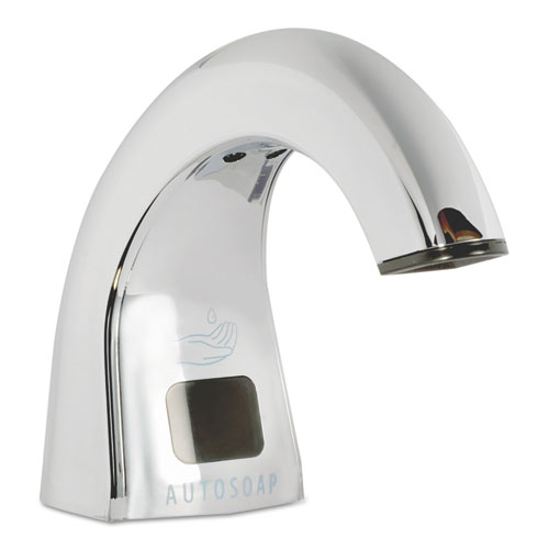 One Shot Soap Dispenser - Touch Free, Polished Chrome, 2 lbs