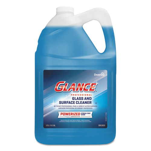 Diversey™ Glance Powerized Glass and Surface Cleaner, 1 gal, 4/Carton