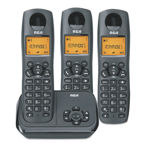 2162 Series One Line Cordless Phone 2 Handsets