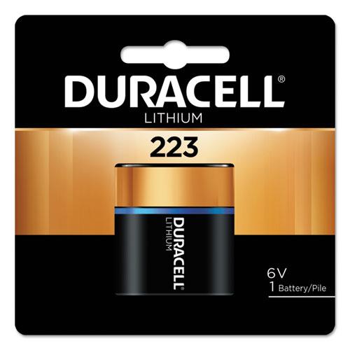 Duracell® Ultra High Power Lithium Battery, 223, 6V, 1/EA