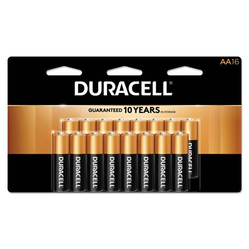 CopperTop Alkaline AA Batteries, 16/Pack
