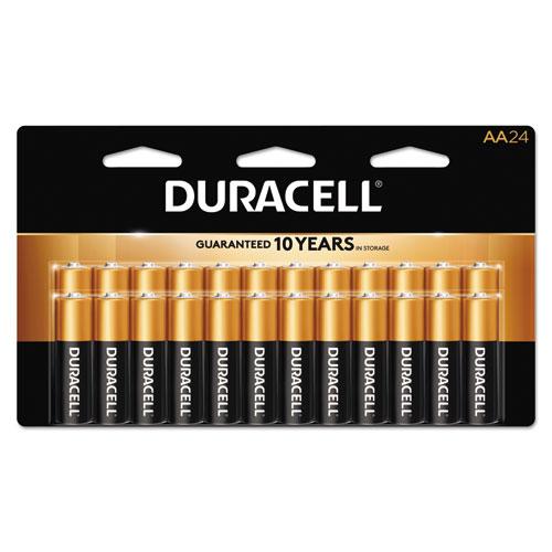 Duracell® CopperTop Alkaline Batteries, AAA, 24/BX