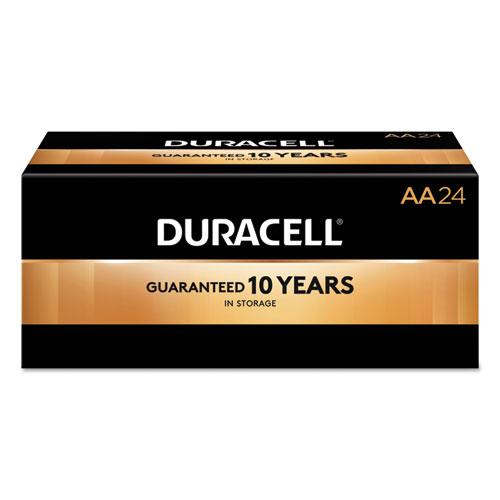 Duracell® CopperTop Alkaline Batteries, AA, 144/CT