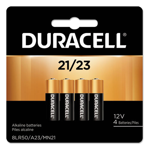 Duracell® CopperTop Alkaline Batteries, 21/23, 4/PK