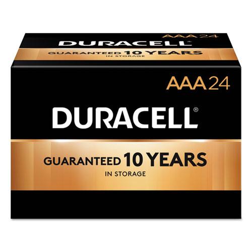Duracell® CopperTop Alkaline Batteries, AAA, 144/CT