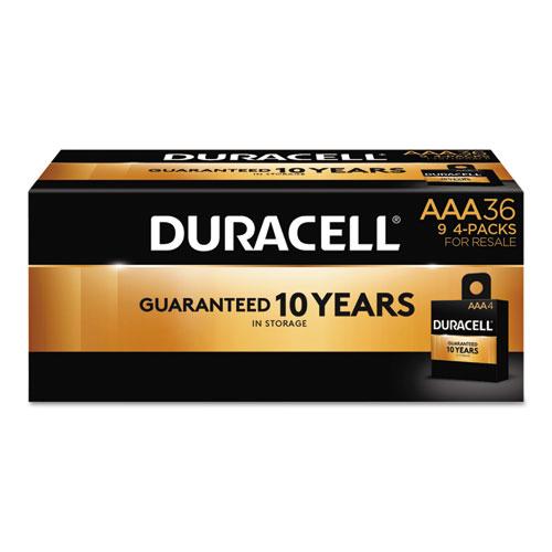Duracell® CopperTop Alkaline Batteries, AAA, 36/PK