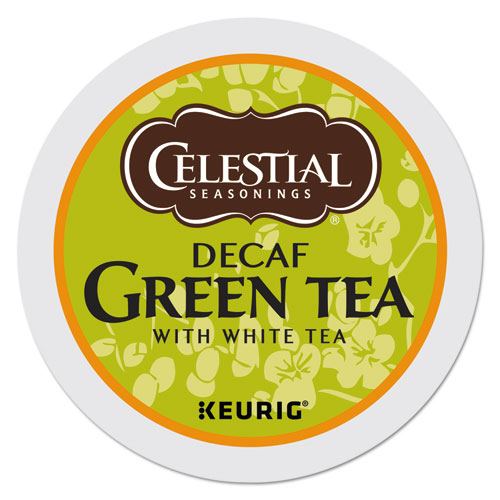 Celestial Seasonings® Decaffeinated Green Tea K-Cups, 24/Box