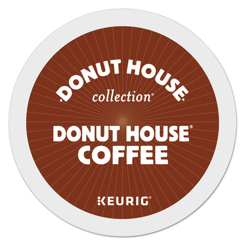 Donut House Coffee K-Cups, 24/Box 6534