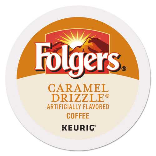 Folgers® Caramel Drizzle Coffee K-Cups, 24/Box