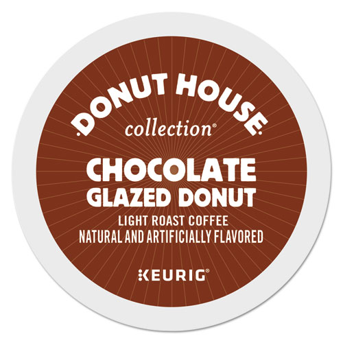 Chocolate Glazed Donut Coffee K-Cups, 96/Carton 6722CT
