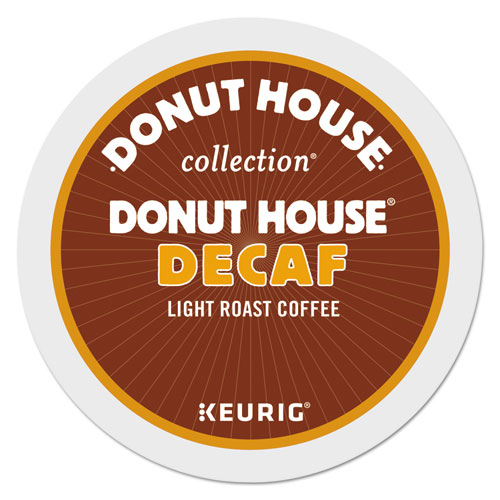 Donut House Decaf Coffee K-Cups, 96/Carton 7534CT