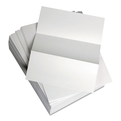 Custom Cut-Sheet Copy Paper, 92 Bright, 20lb, 8.5 x 11, White, 500/Ream | by Plexsupply
