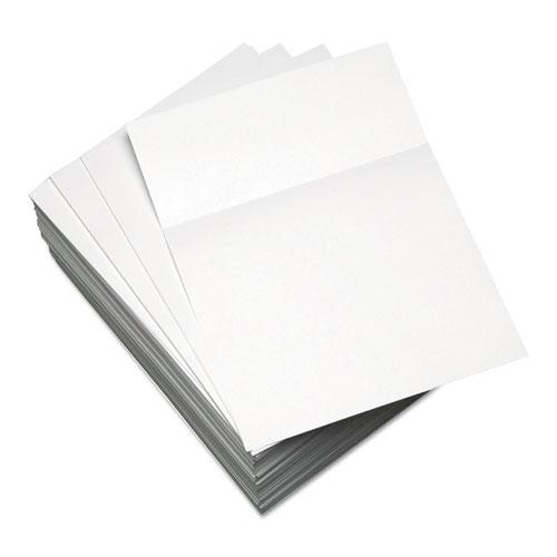 Custom Cut-Sheet Copy Paper, 92 Bright, 20lb, 8.5 x 11, White, 500/Ream | by Plexsupply