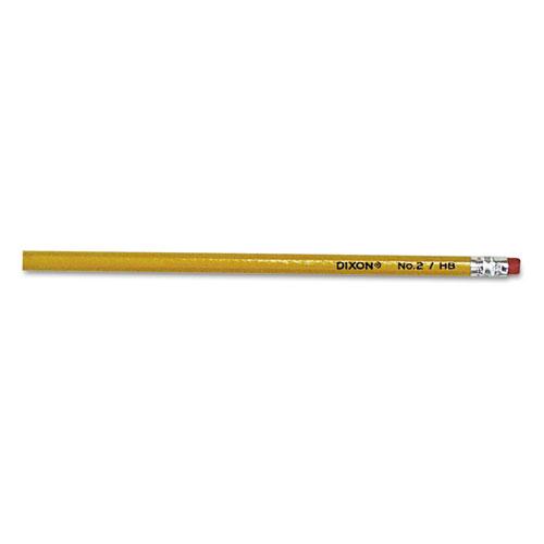No. 2 Pencil, HB (#2), Black Lead, Yellow Barrel, 144/Box | by Plexsupply
