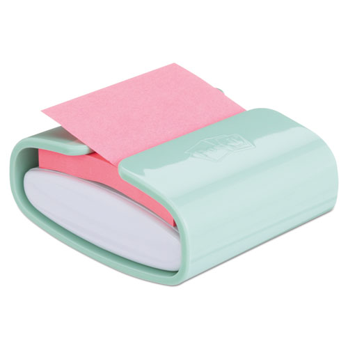 Wrap Dispenser, For 3 x 3 Pads, White/Mint
