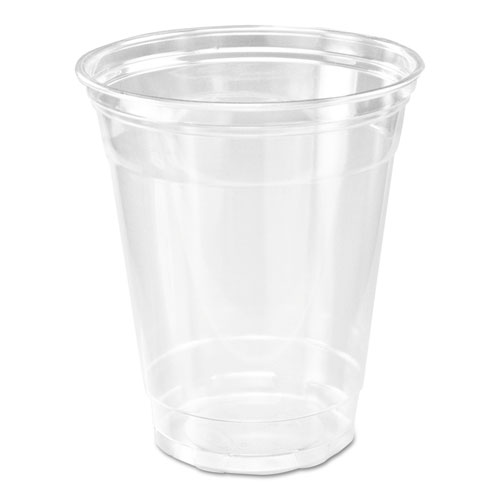 Clear Plastic PETE Cups, 14 oz, Clear, 20/carton CP1214