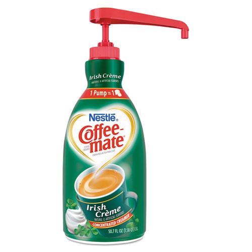 Coffee-mate® Irish Creme Liquid Creamer, 1.5L Pump Bottle