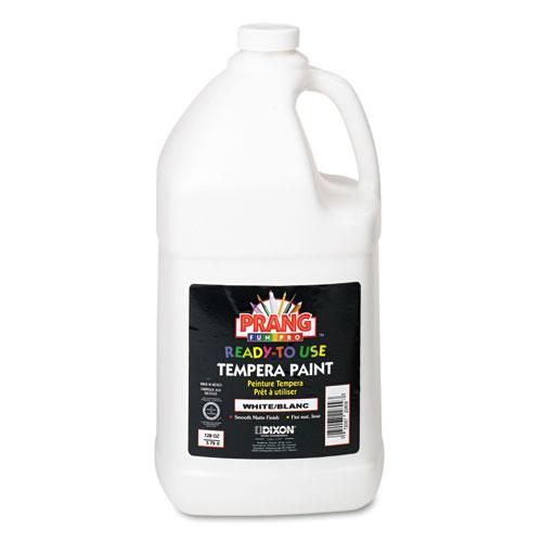 Prang® Ready-to-Use Tempera Paint, White, 1 gal