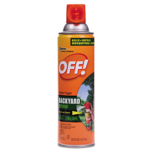 Backyard Insect Repellent, 16 oz Aerosol, 12/Carton