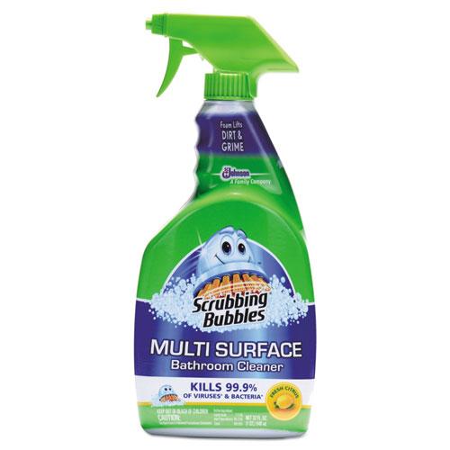 Scrubbing Bubbles® Multi Surface Bathroom Cleaner, Citrus Scent, 32 oz Spray Bottle
