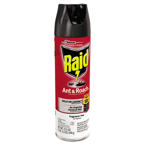 How To Kill Ants In Kitchen Cabinets: Fragrance Free Ant & Roach Killer, 17.5 Oz Aerosol Can, 12