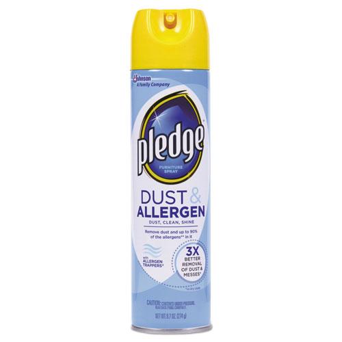 Pledge® Dust and Allergen, Outdoor Fresh, 9.7oz CFC-Free Aerosol, 12/Carton