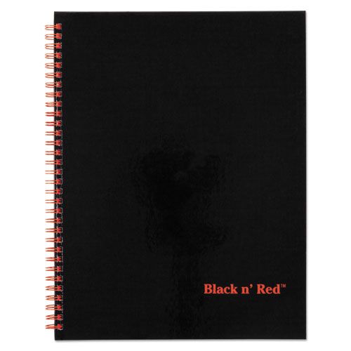 Jdk67030 Black N Red Twinwire Hardcover Notebook Plus