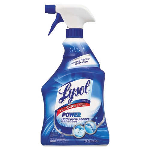 LYSOL® Brand Disinfectant Bathroom Cleaners, Liquid, 32oz Bottle