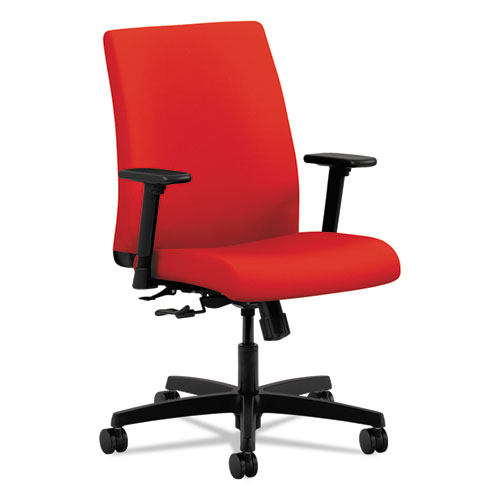 HON® Ignition Series Low Back Task Chair, Ruby | All American Paper Co.