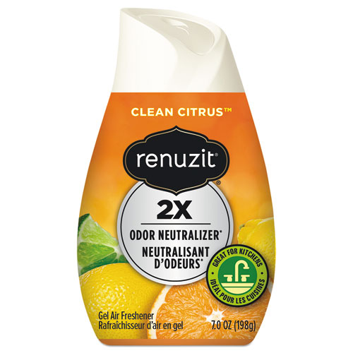 Adjustables Air Freshener, Citrus Sunburst, 7 oz Cone, 12/Carton | by Plexsupply
