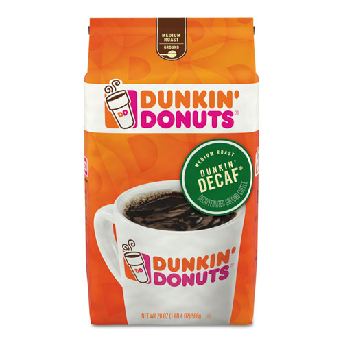 Dunkin Donuts® Original Blend Coffee, Dunkin Decaf, 20.8 oz