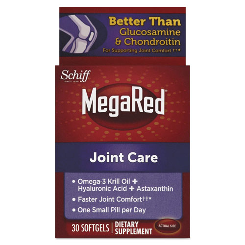 MegaRed® Joint Care Softgels, 30 Count