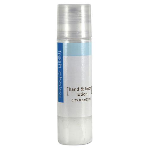 Fresh Choice™ Hand and Body Lotion, 0.75 oz Bottle, 288/Carton