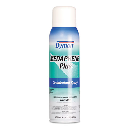 Dymon® Medaphene Plus Disinfectant Spray, Spray, 20 oz, 12/Carton