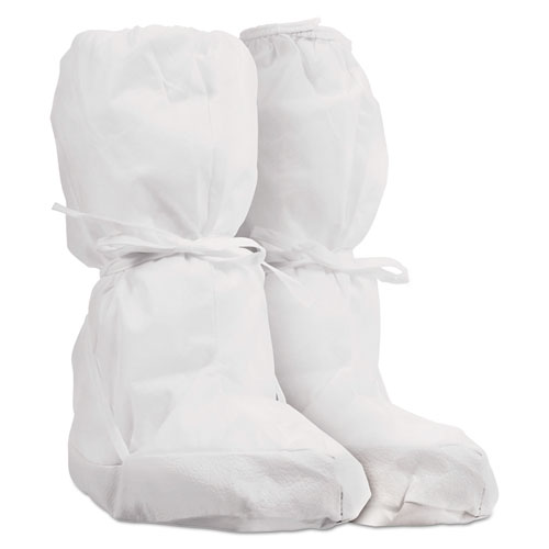 Pure A5 Sterile Boot Covers, White, One Size Fits All, 100/Carton