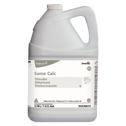 Diversey™ Suma Calc Descaler, Liquid, 1 gal, 4/Carton