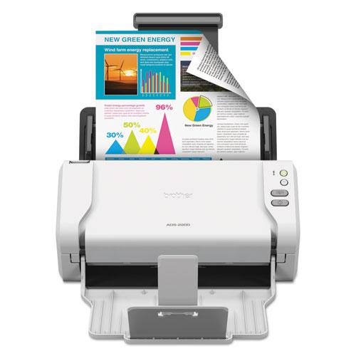 Brother ADS2200 High-Speed Desktop Color Scanner with Duplex Scanning