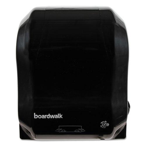 Hands Free Mechanical Towel Dispenser, 13.25 x 10.25 x 16.25, Black