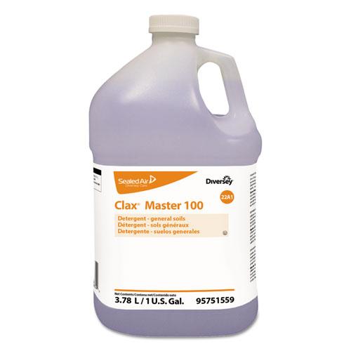 Diversey™ Clax Master 100, Liquid, Unscented, 4/Carton